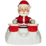 USB игрушка Дед мороз с барабанами 1004