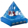USB Разветвитель на 4 порта Пирамида FD5082