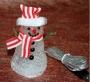 Новогодний снеговик USB c разноцветной подсветкой (без музыки)