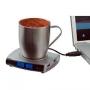 Нагреватель  USB с термометром для чашки