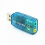 Внешняя мультимедийная звуковая карта USB 3D Sound 5.1