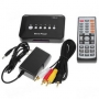 Разные (36226) Мини мультимедиаплеер с поддержкой USB/SD/MMS носителей, разрешение 720*576P