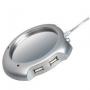 USB Подогреватель для кружки + 4-port USB Hub 2.0   W1002B