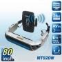 80-дюймовые беспроводные видео очки виртуальной реальности с функцией видеоняни (модель MT920W)
