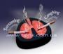 Пепельница в виде легких (кашляет)