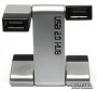 USB 2.0 4-х портовый Хаб Lapara Робот (LA-UH408 Silver)