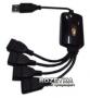 USB 2.0 4-х портовый Хаб Lapara (LA-UH803-A Black)