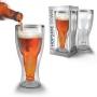 Пивной бокал в бутылке Hopside Down Beer Glass