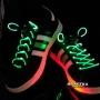 Светящиеся шнурки Disco зеленые