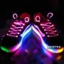 Светящиеся шнурки Disco красные