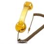Телефонная трубка Native Union Pop Phone High Gloss Gold (PHO027GD)