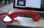 Телефонная трубка Native Union Pop Phone Soft Touch Red (PHO001R)