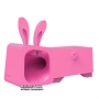 Подставка-усилитель Ozaki O!music Zoo Rabbit Pink (OM936RB)