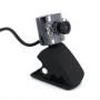 Вебкамера (webcam) с микрофоном для ПК, ноутбука, 3Мп, подсветка 6 LED